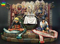 Naruto y Sasuke Naruto Merchandise, Arte Ninja, Naruto Vs Sasuke, Otaku, Anime Toys, Kawaii, Action Figures, Steampunk, Poster