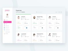 Pleo Expense page (Redesign exploration) by Prakhar Neel Sharma - Dribbble Dashboard Interface, Web Dashboard, Ui Web, Dashboard Design, User Interface Design, Ui Design, Profile Website, Card Ui, Design System