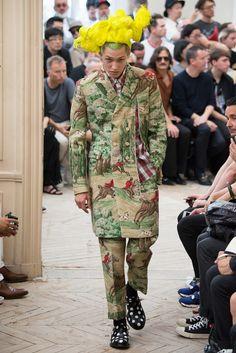 Comme des Garçons Homme Plus Spring 2016 Menswear Fashion Show