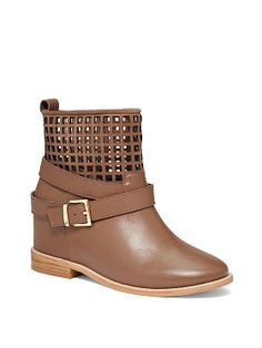 Cut-out Bootie