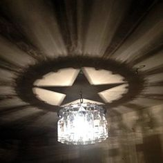 Texas Star light bottle Chandelier home and living gift Lone Star Texas lighting barwinedecorCowboy WesternRodeo Western Rooms, Western Decor, Country Decor, Rustic Decor, Farmhouse Decor, Cowboy Western, Country Living, Modern Farmhouse, Outdoor Light Fixtures