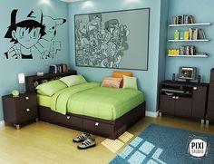 Best Anime Room Ideas Modern Lifestyle In Grey Bedroom Design 640 x 480