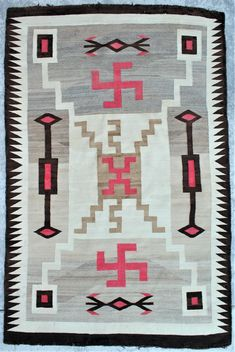 Navajo Weaving (#0209) on Aug 28, 2021 | New Frontier Western Show & Auction in WY Chief Seattle, Navajo Weaving, Large Crystals, Nativity, Westerns, Native American, Weave, Auction, Quilts