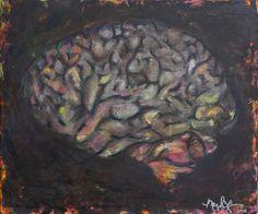 Chalkboard Brain by Meghan Fay