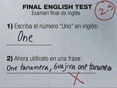 Final english test
