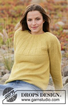Women - Free knitting patterns and crochet patterns by DROPS Design Ladies Cardigan Knitting Patterns, Free Knitting Patterns For Women, Crochet Patterns, Drops Design, Drops Patterns, Spring Jackets, Work Tops, Knit Jacket, Cardigans For Women