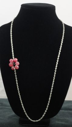 """Felt by Nidhi """"Sweet Pea"""" necklace"""