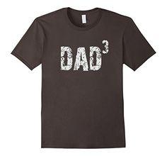 Men's Dad 3 Mens T-shirt, Father's Day Dad 3 Men's Tee  Father of three T-shirt, Three Kids T-shirt http://www.amazon.com/dp/B01F5V6O12/ref=cm_sw_r_pi_dp_GWUoxb09H1GHJ