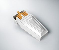 Just more inclined to smoke for a nifty looking cigarette pack :) when I want to quit I'll quit.