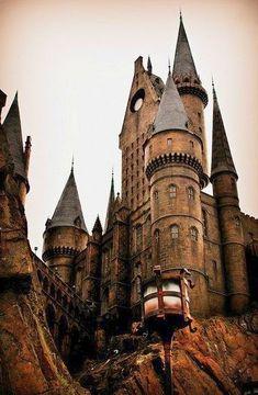 Hogwarts Castle of Harry Potter.