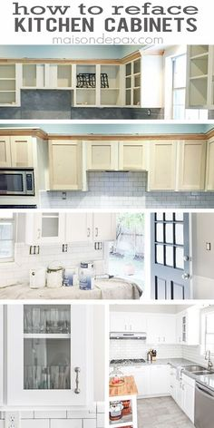 refacing kitchen cabinets - Kitchen Cabinet Refacing Materials