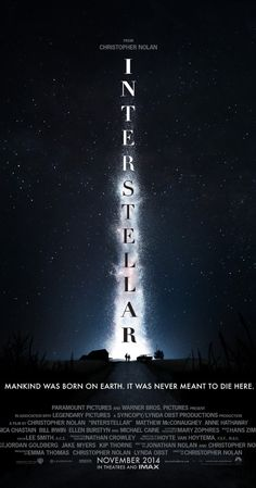 #Interstellar (2014) new massive #movie from Christopher #Nolan. Must check people ! :)