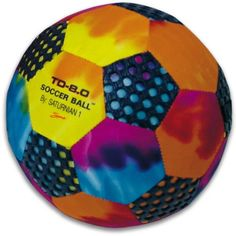 Awesome Tie-Dye soccer ball!