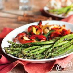 This easy recipe for Grilled Asparagus from Crisco® makes a simple addition to your Easter menu. Simple, delicious and ready in 10 minutes!