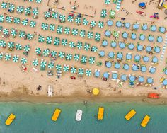 Italy's Summer Beaches Look Even More Beautiful From Above | WIRED