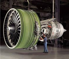 The world's Biggest Jet engine. http://www.siliconinfo.com/cad-outsourcing-services/mechanical-design-drafting-3d-modeling-hvac.html #MechanicalEngineeringServices #MechanicalDesigningServices