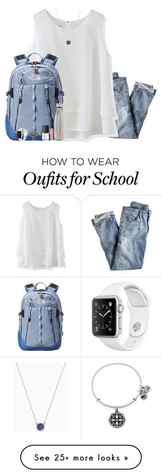 """""""Last Day of School [contest]"""" by classicallyclaire on Polyvore featuring J.Crew, Chicwish, The North Face, S'well, NARS Cosmetics, Alex and Ani and gettingreadyforsummercontest"""