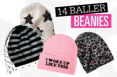 14 Baller Beanies To Rock Now #Seventeen
