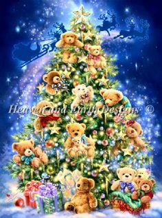 Heaven and EARTH Teddy Bear Tree
