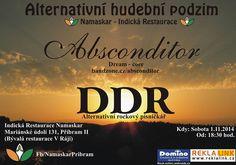 #Event #absconditor #DDR #Rockstars at #Restaurant#Pribram