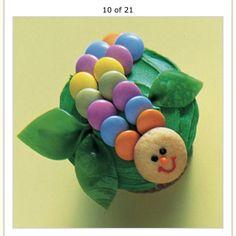 Hungry caterpillar cupcakes!