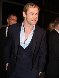 Christopher Hemsworth (n. 11 de agosto de 1983). Más conocido por el nombre artístico de Chris Hemsworth. Es un actor australiano nomina...