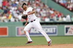 CrowdCam Hot Shot: Boston Red Sox shortstop Xander Bogaerts tracks a fly ball during the eighth inning against the New York Yankees at Fenway Park. Photo by Greg M. Cooper