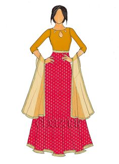 Buy online Salwar Kameez for women at Cbazaar for weddings, festivals, and parties. Diy Fashion Dresses, Abaya Fashion, Ethnic Fashion, Indian Fashion, Women's Fashion, Fashion Figure Drawing, Fashion Drawings, Fashion Illustrations, Fashion Sketches
