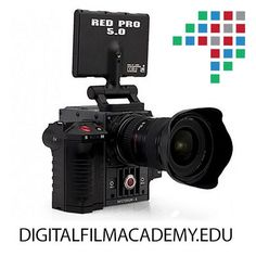 Join the digital revolution with the Digital Film Academy! #digital #nyc #media #redcam