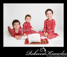 Panama City portrait photographer, wedding photographer ~ Rebecca Knowles Photography: Turner Kids Christmas Portraits {Panama City Photography studio Holiday Portraits}