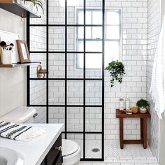 Small Bathroom Storage, Bathroom Design Small, Bathroom Interior Design, Modern Bathroom, Bathroom Organization, Minimalist Bathroom, Bathroom Designs, Condo Bathroom, Industrial Bathroom