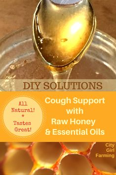 If you're looking for natural, healthy support for your body this winter (something that works, is easy to use, affordable and tastes good), here's your answer! Honey and essential oils combine for a winning combo for your winter health blues.