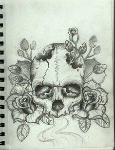 Jardín de skull rose
