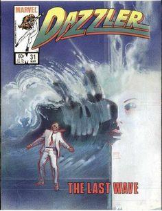 Dazzler #31 by Bill Sienkiewicz *