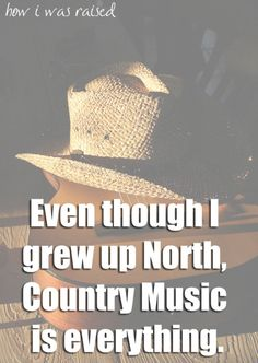 :) you don't have to be from the south to just like country music. Stupid. Ya Damon idjits