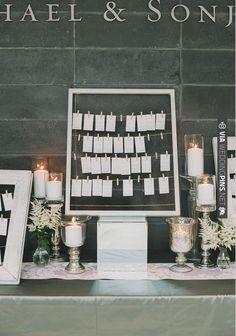 escort card ideas | CHECK OUT MORE IDEAS AT WEDDINGPINS.NET | #weddings #escortcards #cards
