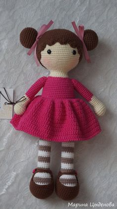 Sweet little crochet doll base This Pin was discovered by Arz My Most Beautiful Knitting: Do Crochet Doll Tutorial, Crochet Doll Pattern, Crochet Patterns Amigurumi, Amigurumi Doll, Knitted Dolls, Crochet Dolls, Crochet Mignon, Cute Crochet, Doll Patterns