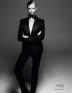 Tom Ford makes women look hot in suits too!
