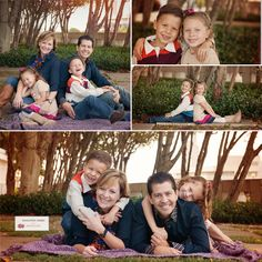 (C) Hamilton Creek Photography, family pictures, posing families