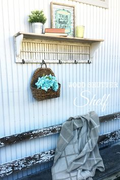 DIY Wood Shutter She