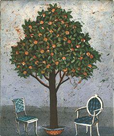 Finnish Women, Helene Schjerfbeck, Bird Perch, Water Lilies, Folk Art, Theatre, Illustration Art, Trees, Graphics