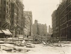 1929 construcción Gran Vía