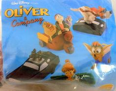 1996 Burger King Disney Oliver & Company Pop Up Roscoe and DeSoto New In Package #Disney