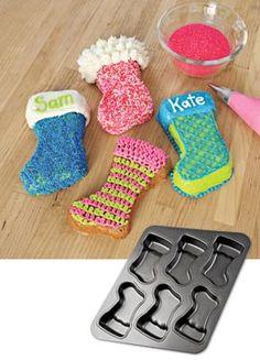 Stocking Baking Pan, Christmas Stocking Muffin Pan, Cakelette Pan,  Cupcake Pan | Solutions