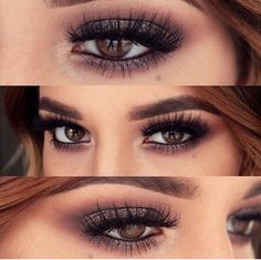 Beautiful smokey for brown eyes