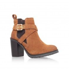 tacoma tan high heel ankle boots from Carvela Kurt Geiger