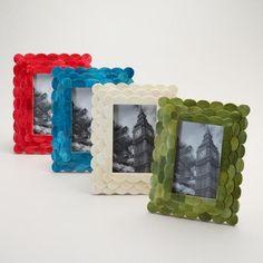 One of my favorite discoveries at WorldMarket.com: Venya Scalloped Frames, Set of 4 - $60
