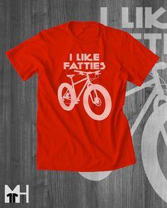Mountain Bike T shirt Fat Bike Fat Tire Bike T-Shirts Cycling T shirts Cycling Clothing Cycling Apparel Funny T shirts for Men
