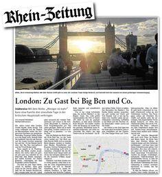 Maps4News in Rhein-Zeitung, Germany
