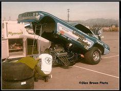Candies & Hughes Funny Car
